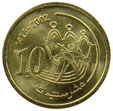 (g34) - marruecos Morocco 10 santimat céntimos 2002 Sport & solidaridad UNC y # 114