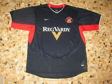 Maillot shirt trikot maglia jersey SUNDERLAND   2003-2004 NIKE ENGLAND  AWAY XL