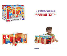Fireman Sam Pontypandy Fire Station - Boys Playset Play Pretend Toys Gift Pack