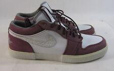 Nike Air Jordan Retro V1 Mens Sneakers  481177 108 White/Grey/Bordeaux size  8.5