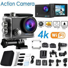 Go As Pro 4K Sports Action Camera Ultra HD DV 16MP 1080p +Full Accessory Bundle