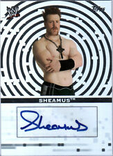 WWE Sheamus 2010 Topps SILVER Authentic Autograph Card