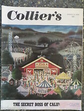 Collier's Magazine   August 13,1949   *Jean Simpson*  GREAT ADS