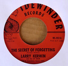 COUNTRY PSYCHABILLY - LARRY KERWIN - MAKING VOWS b/w SECRET OF..- SIDEWINDER 45