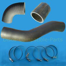 Land Rover Discovery 200 TDi Intercooler Turbo Hose & Stainless Steel Clamp Kit