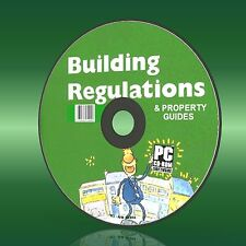 Full Official UK Building Regulations/regs DOCS on Easy to Use Autorun PC CD