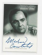 Michael Constantine - Twilight Zone signed Trading Card