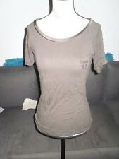 T-shirt marron strass femme GUESS BY MARCIANO taille 38 / 40