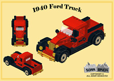 Custom instruction, consisting of LEGO elements - 1940 Ford Truck