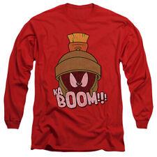 Looney Tunes Kaboom Licensed Adult Men's Long Sleeve Tee Shirt Sm-3Xl