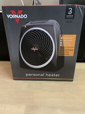 Vornado VH5 120 Volt 125 Square Feet Area Home Personal Electric Heater, Black