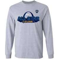 Men's St Louis Blues 2020 NHL All-Star Game Long Sleeve T-Shirt M-3XL