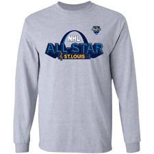 Men's St Louis Blues 2020 NHL All-Star Game Long Sleeve T-Shirt M-3XL