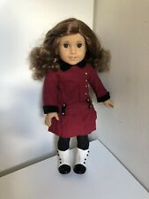 Retired American Girl Doll Rebecca Rubin w/ First Edition Meet Outfit Excellent