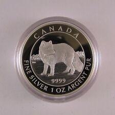 2014 $5 Silver Coin Arctic Fox #0386 or 2262