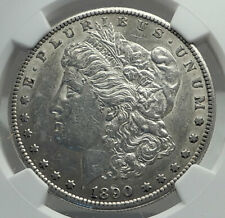1890 UNITED STATES of America SILVER Morgan US Dollar Coin EAGLE NGC i79603