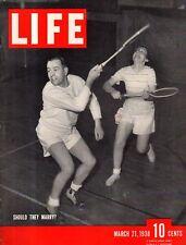 1938 Life March 21 - Austria goes Nazi; Stanford super basketball; Wheeling WVA