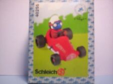 Smurfs RED Racing Car Driver with SILVER suit RARE SJ1239