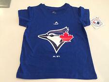 Toronto Blue Jays Kids Toddler 12 Months MLB Baseball Team Logo T Shirt Majestic