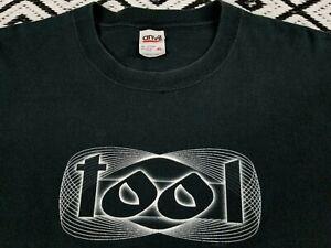 TOOL Band T Shirt 2003 print ,metal ,Maynard James Keenan, size XL