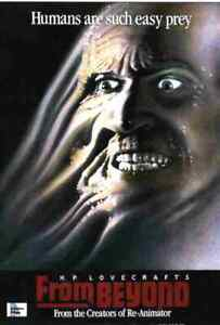 From Beyond - 1986 Horror - Jeffrey Combs, Barbara Crampton, Ted Sorel - DVD