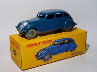 Peugeot 402 + certificat  ref 24K / 24 K de dinky toys atlas