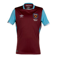 West Ham United Home Shirt Umbro Childrens Official Football Jersey 2016 17