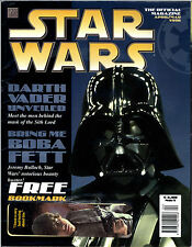 STAR WARS THE OFFICIAL MAGAZINE APRIL/MAY 1996  ISSUE NO.1 DARTH VADER BOBA FETT