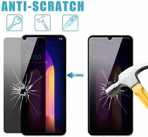 For LG V60 ThinQ 5G Privacy Anti-Spy Tempered Glass Screen Protector