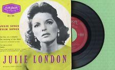 JULIE LONDON / The Boy On A Dolphin / LONDON RE-U 1076 Press France 1957 EP EX