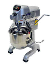 New! 20 Quart Planetary Mixer, Gear Driven w/ Timer, 3 Accessories, Nsf, Ppm-20