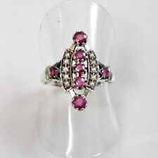 Ringe mit natürlichem echten Edelsteinen im Cocktail-Stil für Damen