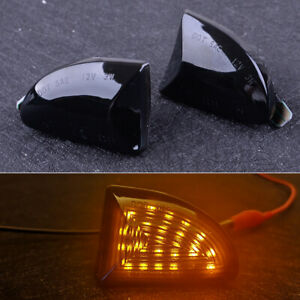 2pcs LED Side Markers Lights Fit For Smart Fortwo Coupe/Cabrio 2007-2014