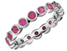 Created Ruby Ring 1.70 Carat (ctw) in Sterling Silver