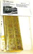 BR 166 peenem Ep3 S TREN Latón kit construcción G MODELO mahlow 1:160 N Brass å