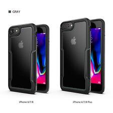 Para Apple iPhone SE 2020 6 6S 7 8 Plus Carcasa Protectora, a prueba de golpes cubierta delgada Transparente