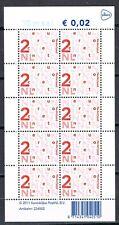 Nederland Nikkels V2034dc PostNL-logo 10 x 2 cent uitgifte 2012 cat waarde € 1