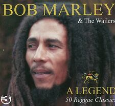 Bob Marley The Wailers A Legend 50 Reggae Classics 3 Cd Box Set Soul Rebel +more
