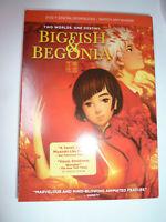 Bigfish & Begonia DVD anime movie magical fantasy animated cartoon 2016 NEW!