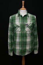 Superdry Men's Fitted Long Sleeve Check Casual Shirts & Tops