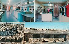 Vintage Postcard Quick Clean Laundromat & Dry Cleaning, Pennside, Reading Pa