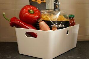 5pcs Ralphs Studio Baskets Plastic Storage Organiser Office Home Kitchen Boxes