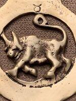 Vintage Brass Buffalo Bottle Opener