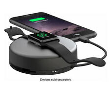 Nomad - Pod Pro Portable Charger - Space Gray - for iPhone + Apple Watch - VG