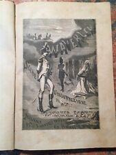 W. Scott: Waverley, scene insurrezione Scozia, Milano Simonetti, 1874,  ROMANZO