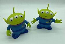 "Disney Pixar Toy Story Alien 6"" Thinkway Figure lot of 2 Fair Condition Used"