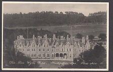 Postcard Strathpeffer Spa near Dingwall the Ben Wyvis Hotel  Ross-shire RP