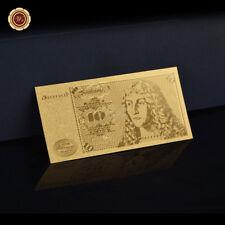 WR 10 DM Deutsche Mark Schein Gold Banknote Geldscheine 1980 BRD