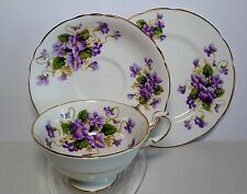 "Lovely Paragon ""Valentine"" cup and saucer trio #1"