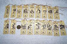 Vintage~Alice In Wonderland~Apothecary~Label~Linen Cardstock~Gift~Hang~Tags